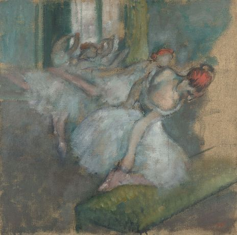 Hilaire-Germain-Edgar Degas, Ballet Dancers, about 1890-1900, The National Gallery, London
