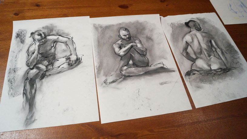 Life Drawing Session: Image 4