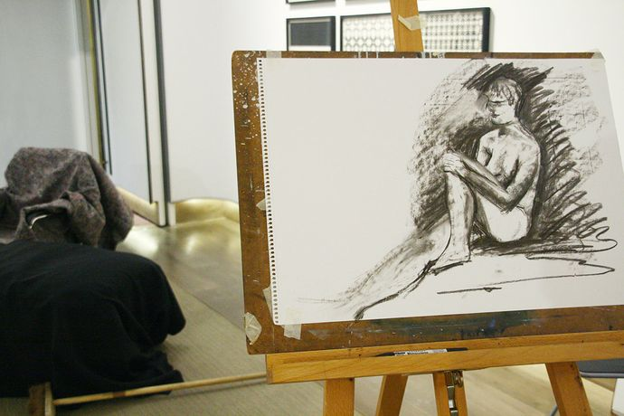 Life drawing sessions: Image 1