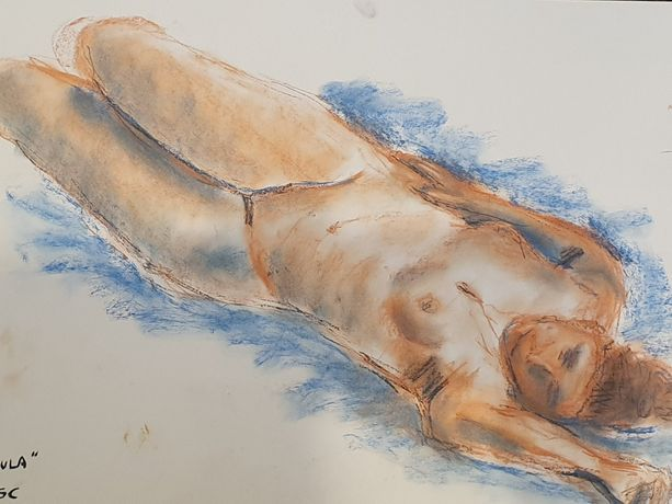 Life Drawing with Rob Oldfield - December: Image 0