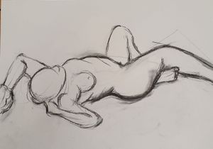 Life Drawing with Rob Oldfield - March