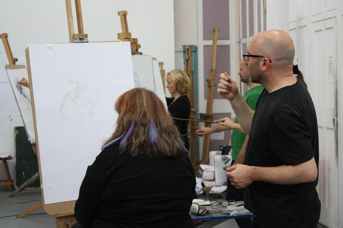 Life Drawing with Roy Eastland: Image 0