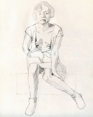 Life Drawing with tutor Martyn Blundell