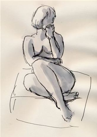 Life Drawing with Zoe Hirson - Special Workshop - 3 to 7 Aug: Image 0