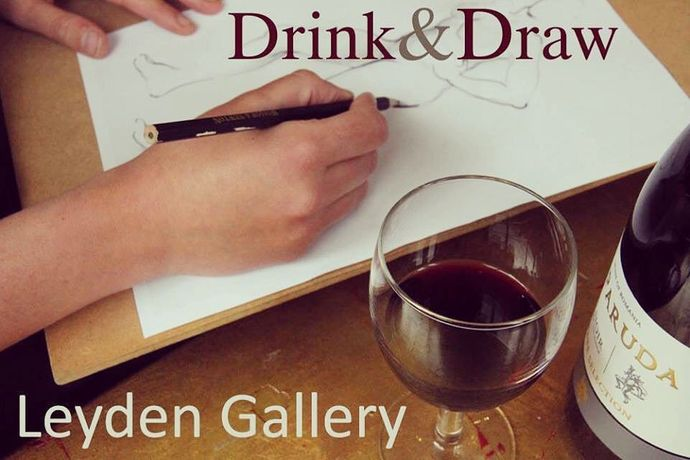 Life drawing workshop Drink & Draw: Image 0