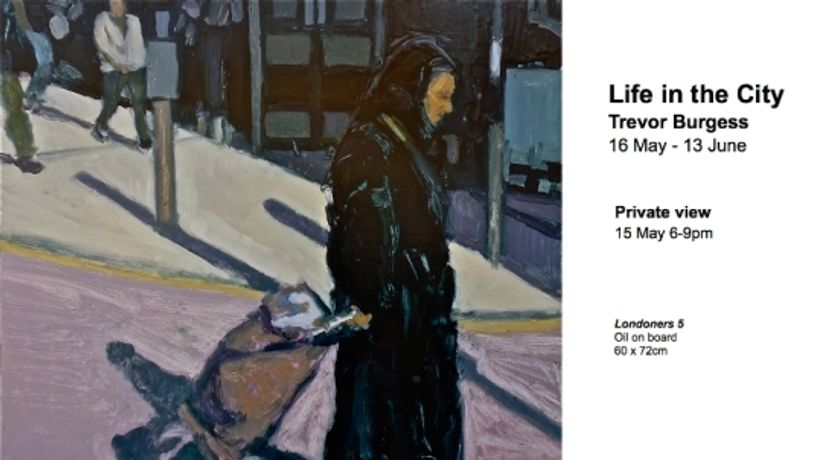 Life In the City by Trevor Burgess at the Free Space Gallery: Image 0