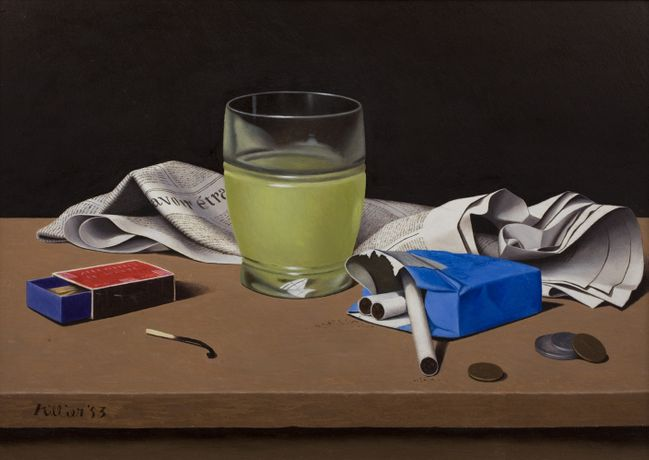 Tristram Hillier, 'Un Pernod.' © The Estate of the Artist