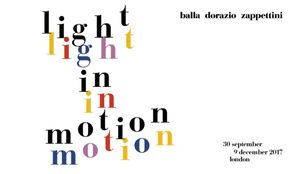 Light in Motion. Balla Dorazio Zappettini