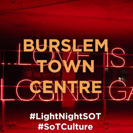 LIGHT NIGHT SOT : Burslem Town Centre 2019