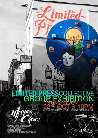 Limited Press Collective group exhibition.: Image 0