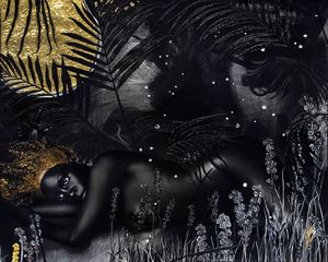 Lina Iris Viktor, II. For Some Are Born to Endless Night. Dark Matter., 2015-9. Courtesy of the artist and Mariane Ibrahim Gallery.