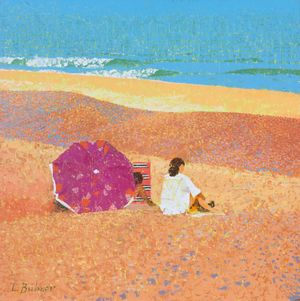 On the Beach - Lionel Bulmer