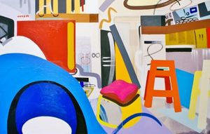 LIsa V Robinson: Abstract Interiors