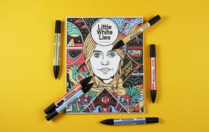 Little White Lies presents... A Star Wars Colouring-in Party