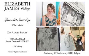 Live Art |Saturday With Artist Zoe Akroyd Parker