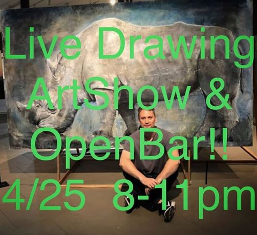 Live Drawing ArtShow & Open Bar: Image 0