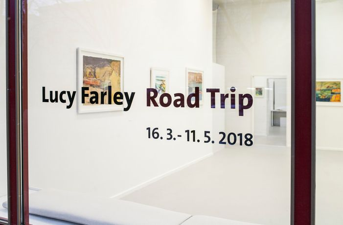Lucy Farley - Road Trip (exhibition view), photo: Alexander Bondar