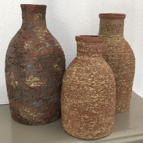 'Bottle Kiln' vases by Kevin Harrington