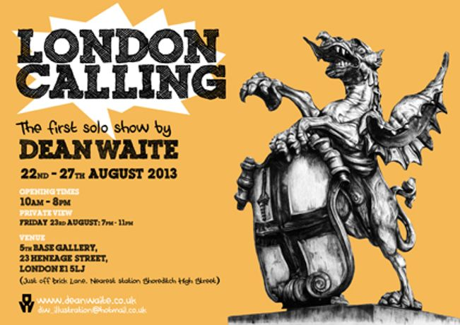 LONDON CALLING - DEAN WAITE: Image 0