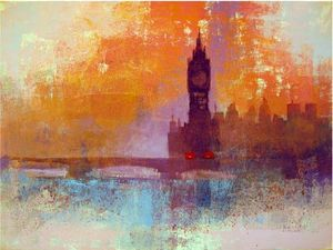 Big Ben Sunset Colin Ruffell