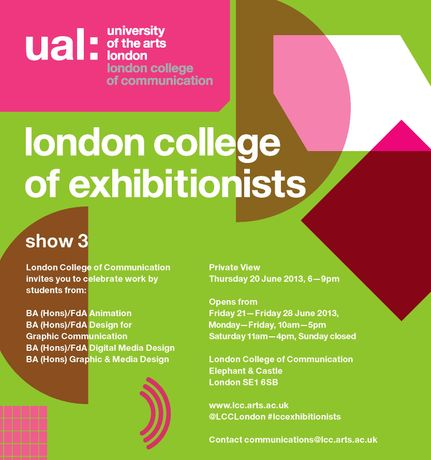 London College of Communication... Summer Show Three // LCC School of Design: Image 0