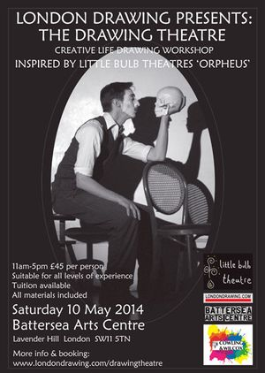 London Drawing Presents: The Drawing Theatre- The Orpheus Edition with Little Bulb Theatre