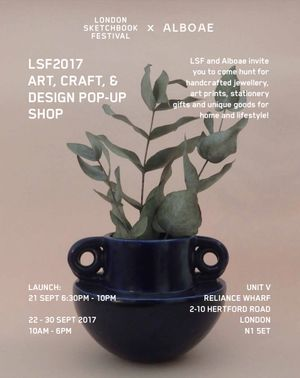 London Sketchbook Festival 2017 – Pop Up Shop