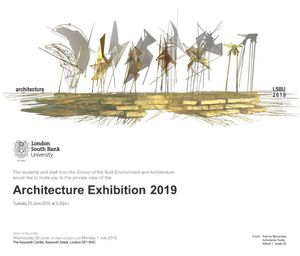 London South Bank University: Architecture Degree Show 2019