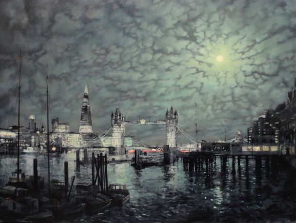 Alex Rennie - Tower Bridge Nocturne  2