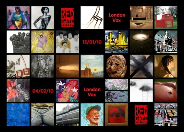 London Vox A group exhibition of works by 30 London artists: Image 0