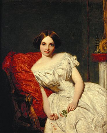Frith, WP - Portrait of Annie Gambart