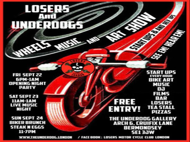 Losers & Underdogs Custom Show: Image 0