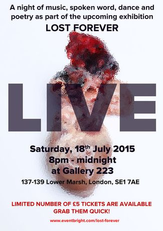 LIVE Saturday 18th July £5