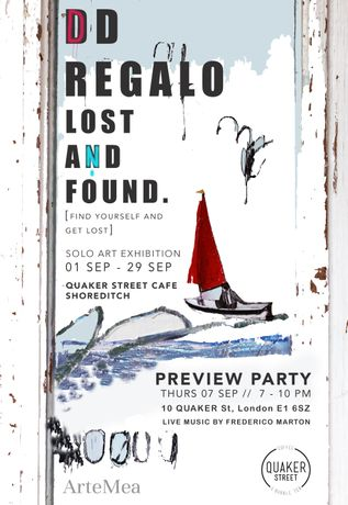 Dd Regalo, Lost & Found @ Quaker Street Cafe Sep 2017