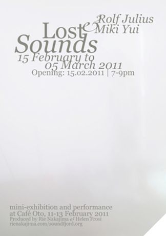 Lost Sounds | Rolf Julius and Miki Yui: Image 0