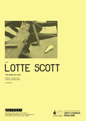 Lotte Scott. The fields are seas