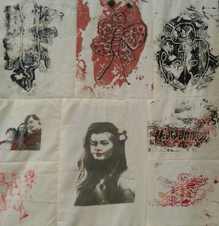 Community Quilt by Nicky Dillerstone, arter Louise Bourgeois