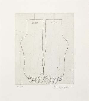 FEET (SOCKS), 1999 © The Easton Foundation/VAGA, New York/DACS, London 2014.
