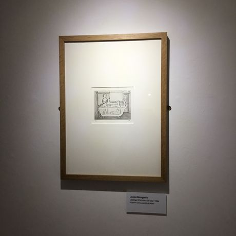 Louise Bourgeois Prints: Autobiographical Series and Set of 11 Drypoints. Installation View at Brentwood Road Gallery, 2017. Courtesy of Brentwood Road Gallery.