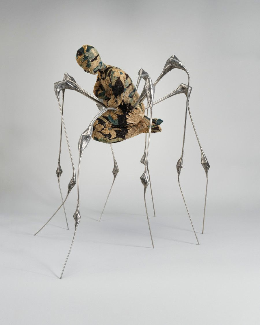 Louise bourgeois spiders exhibition at sfmoma san fransisco museum of modern art in san francisco
