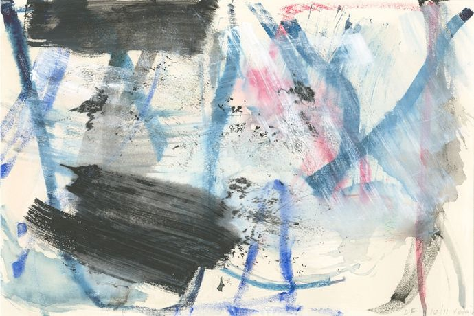 Louise Fishman - Venice Watercolours 2011 - 2013: Image 1