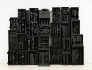 Louise Nevelson. Black & White
