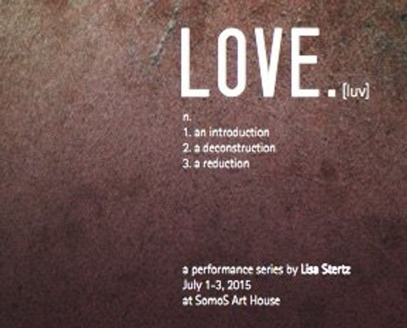 LOVE. - Lisa Stertz - Performance Series: Image 0