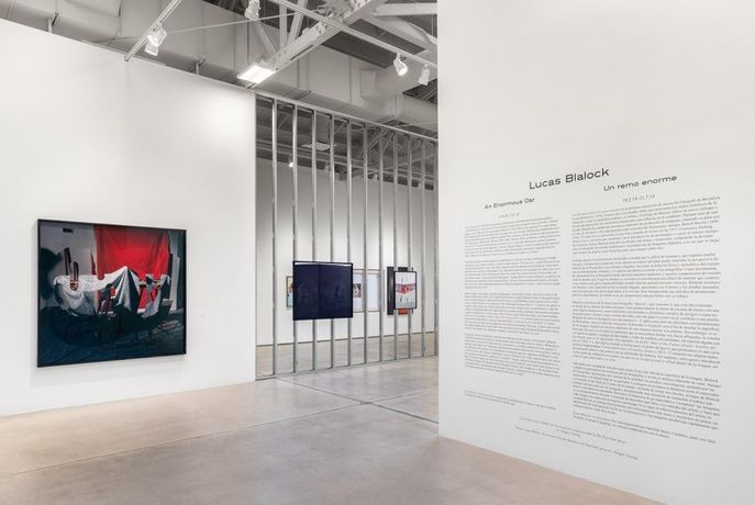 Installation view of Lucas Blalock: An Enormous Oar Institute of Contemporary Art, Los Angeles, February 10–July 21, 2019 Photo: Elon Schoenholz/ICA LA
