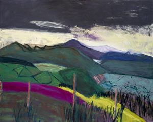 Lucy Jones. Heatherlands (Longmynd) 2010