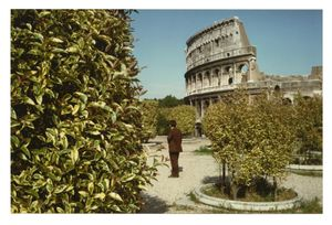 Luigi Ghirri, Roma From the series Diaframma 11, 1/125 luce naturale, 1979