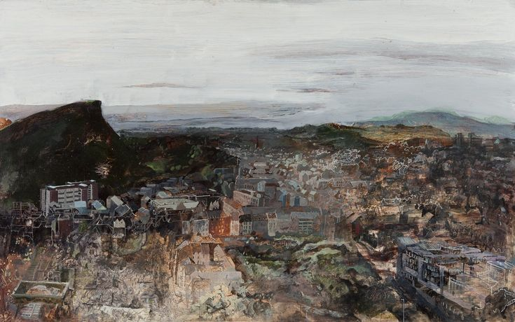 Catharine Davison, 'The Craggs at Dawn (From Carlton Hill), First Prize 2014