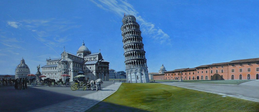 David Wheeler, Field of Miracles, Pisa