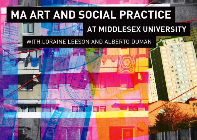 Art Social Calendar : Ma art and social practice workshop at middlesex