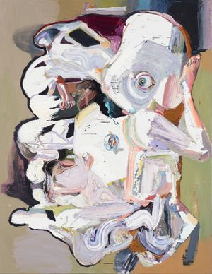 Ben Quilty, The Last Supper no. 2 (2017), oil on linen, 265 × 202 cm